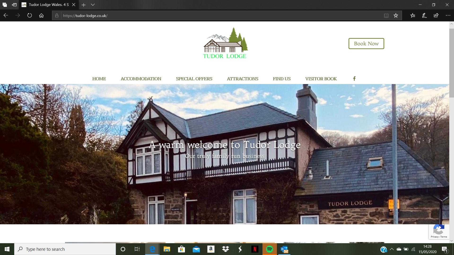 Hetzwebz Portfolio - Web designer in Matlock